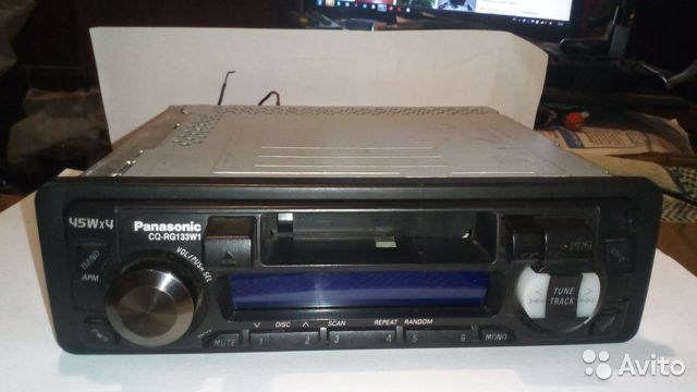 Магнитола Panasonic CQ-RG 133W1 89518650732 купить 2