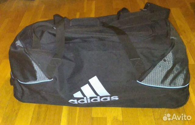 Хоккейная сумка на колесах Adidas