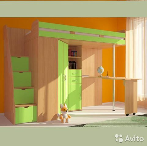 Двухъярусная кровать Мийа (У) - купить за 13 568 руб. в Москве ...   480x481