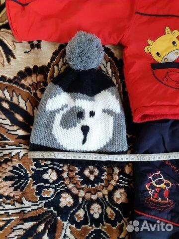 Детский костюм и шапка купить 2