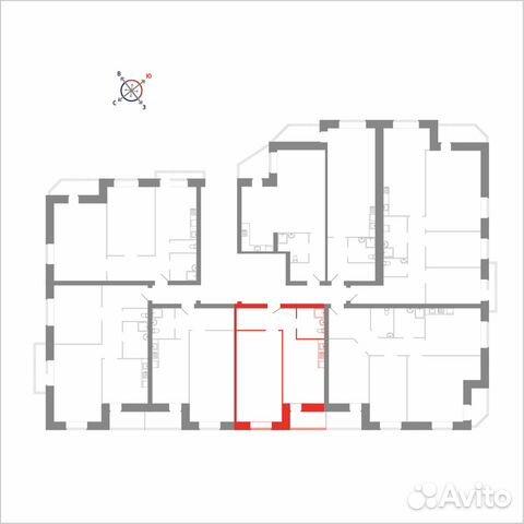 1-к квартира, 45.9 м², 6/8 эт. 89115506177 купить 8