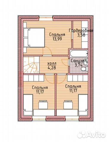 Коттедж 100 м² на участке 12 сот. 89587925197 купить 3
