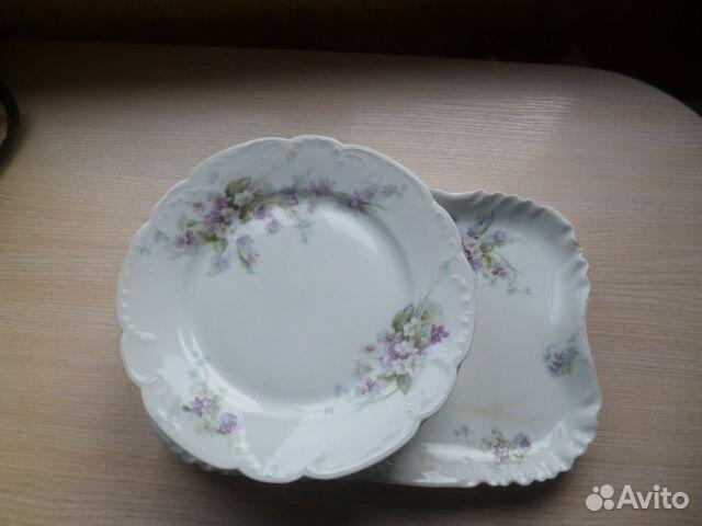 Фарфор Кузнецова 19 век 9 предметов  89532541529 купить 2