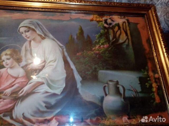 Картина Мадонна с младенцем  купить 3