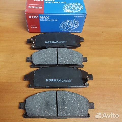 Колодки передние Nissan X-trail T30 89512055919 купить 1