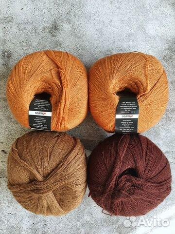 Пряжа Seam merino silk 89086552252 купить 1