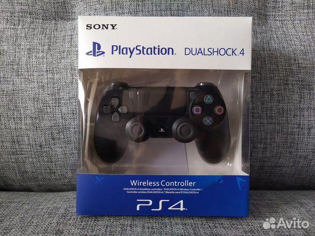 Джойстик для PS4 черный  89537418372 купить 1