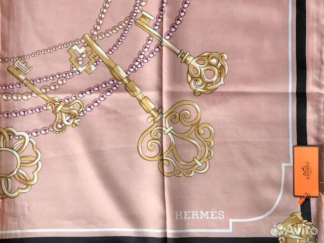 Платок hermes шелковый  89968036030 купить 1
