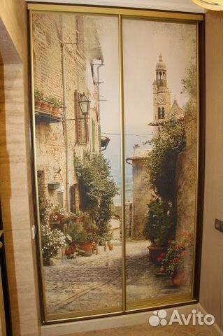 Фотообои на дверь  postroysamcom