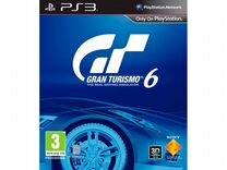 Gran Turismo 6 (PS3, русская версия)