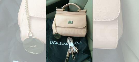 e2a91f73c63b Женская сумка Dolce Gabbana sicily medium розовая купить в Москве на Avito  — Объявления на сайте Авито
