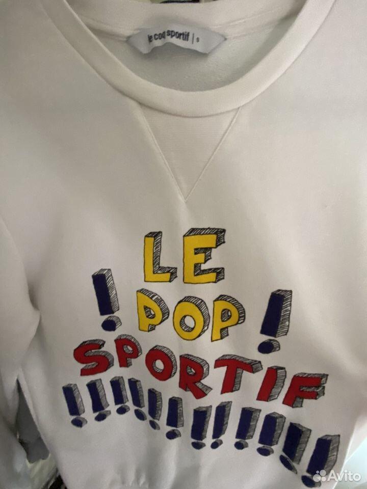 Оригинальный свитшот Le Coq Sportif (S)  89032636918 купить 2