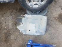 Защита раздатки и бензобака Chevrolet blazer 95-05