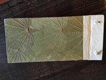 Блокнот из листьев