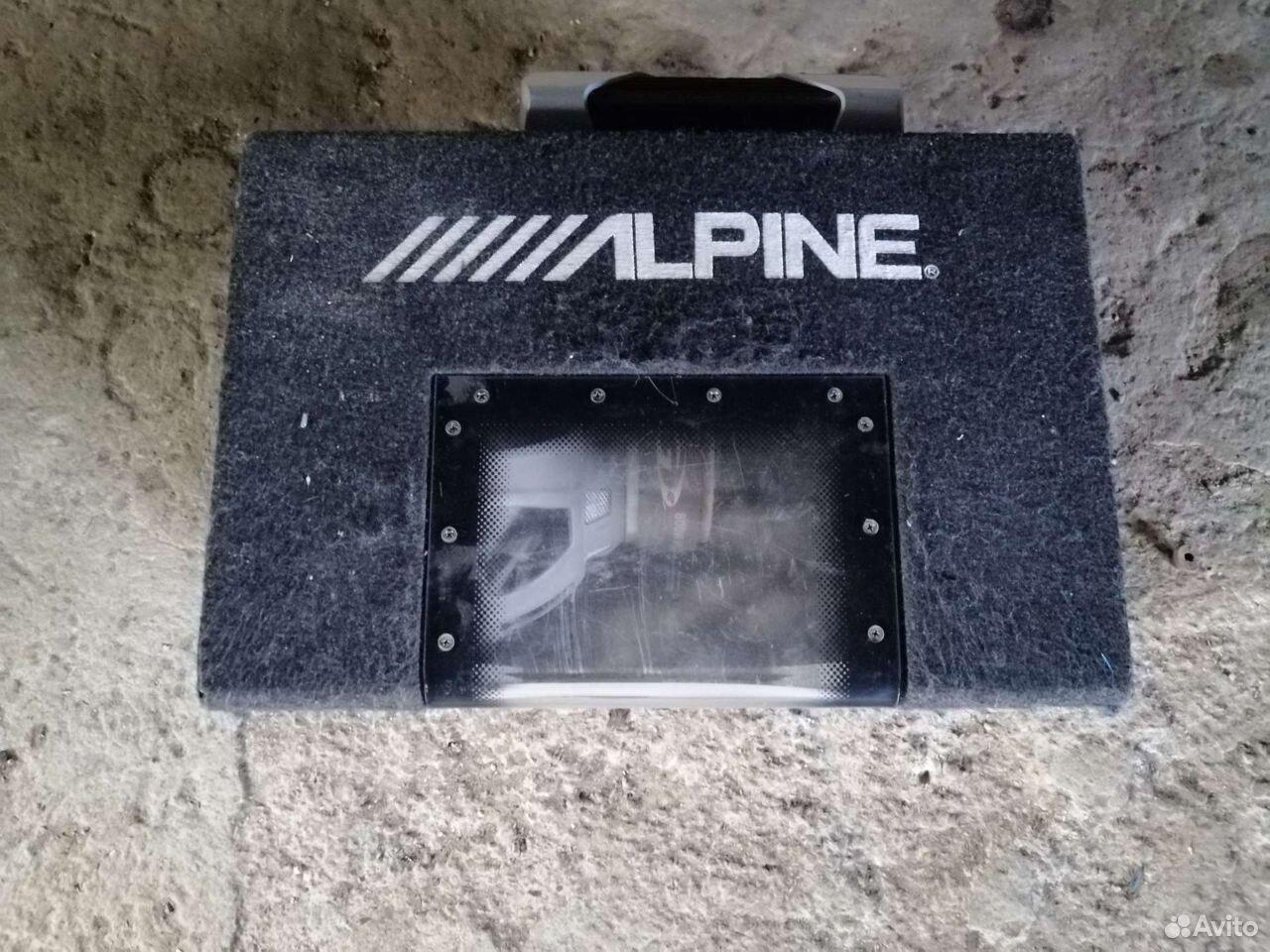Сабвуфер alpine