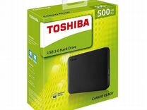 Жесткий диск Toshiba Canvio Ready 500Gb USB 3.0