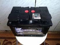 Аккумуляторная батарея 6ст 75Ah 12v