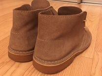 Ботинки замша натуральная, производство Испания