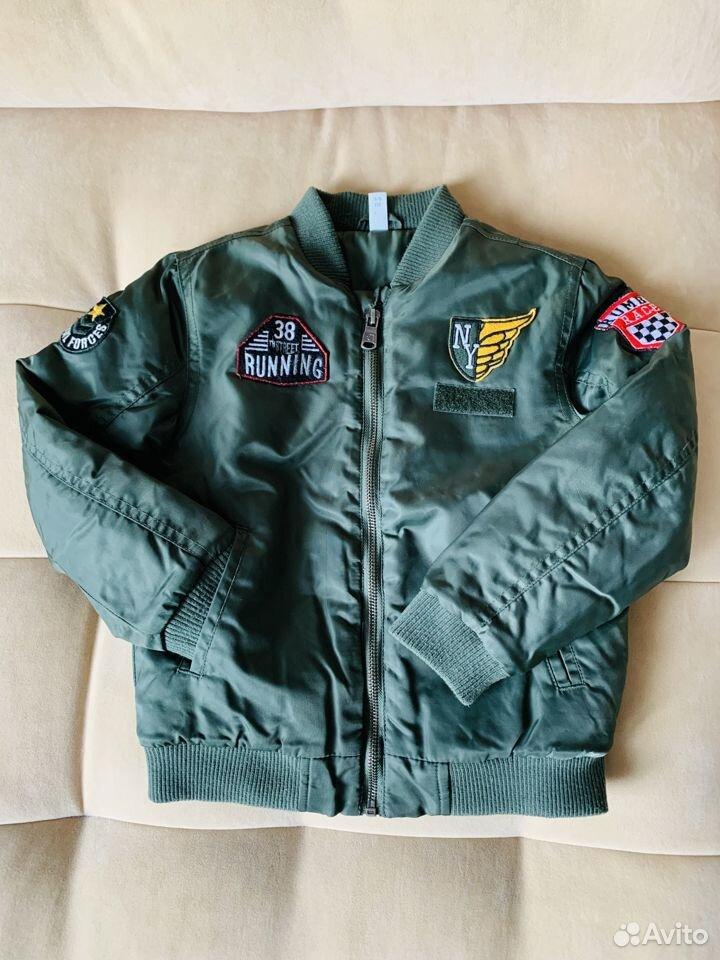 Бомбер р.116 демисезон (куртка утепленная)  89875129176 купить 5