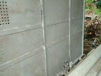 Ворота гаражные с замками. Размер 2,10х3,20
