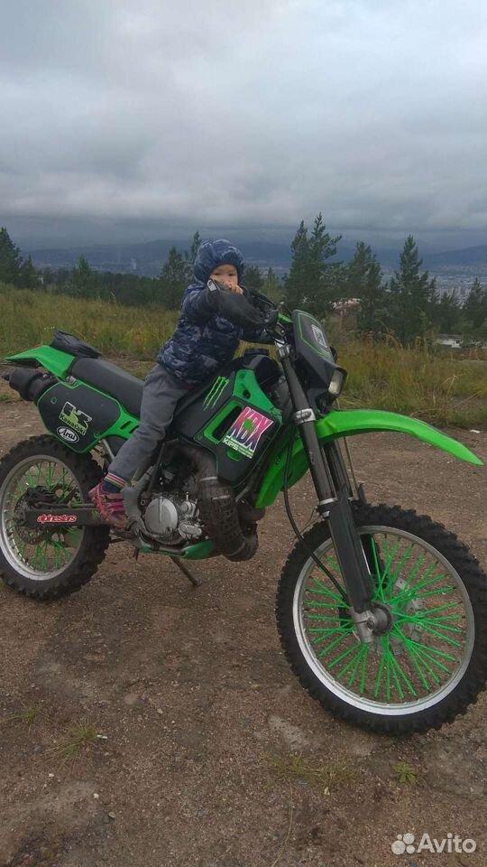 Kawasaki KDX 200 SR  89148303508 купить 5