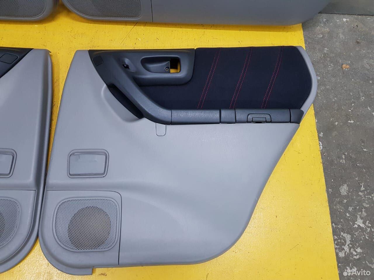 Обшивка дверей STI комплект Subaru Forester, SF5  89625003353 купить 4