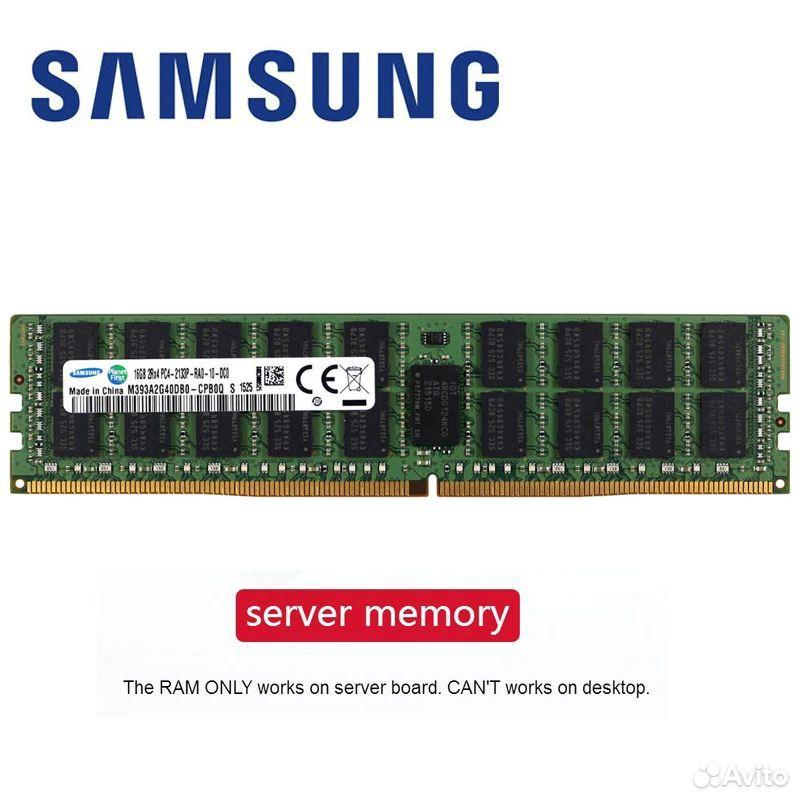 Оперативная серверная память DDR4 16GB Samsung