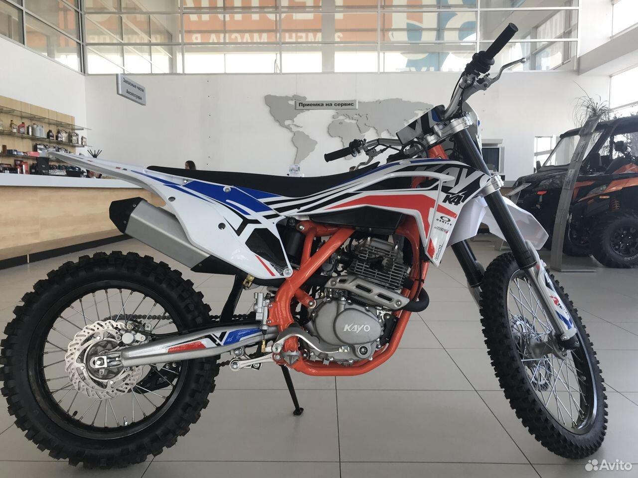 Мотоцикл kayo K4 MX 21/18 (2020 г.)  88792225000 купить 3