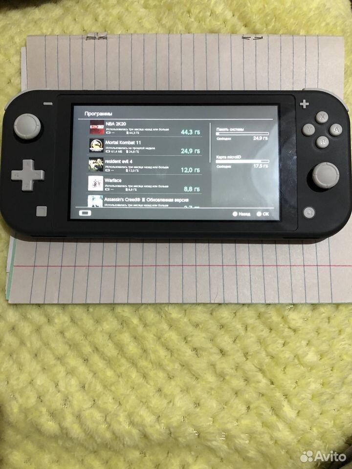 Nintendo switch lite  89612714389 купить 6