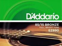 Струны для гитары DAddario EZ890 american bronze