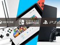 Консоли PS2, PS3, PS4, Xbox360, XboxOne, PSP