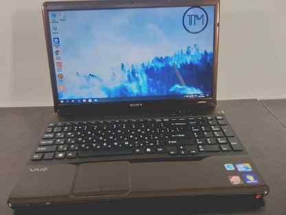 Ноутбук для офиса Sony / i3 / 4gb / 500gb б/у
