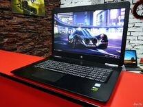 Супер игровой тонкий ноутбук HP core i5 7200GTX950