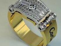 Кольцо Cartier мужское