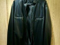 Кожаная куртка (р. 56 на рост 183-185 см.) — Одежда, обувь, аксессуары в Москве