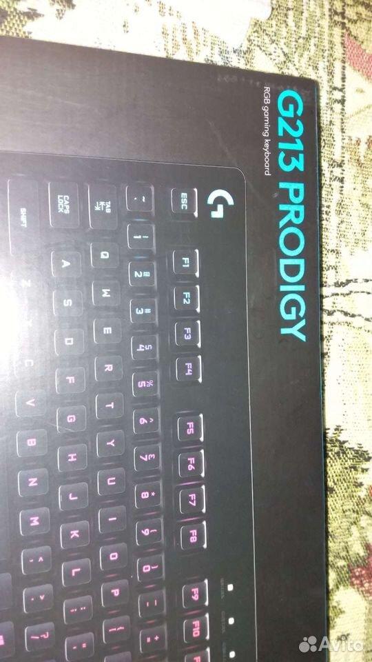 Игровая клавиатура Logitech 213 RGB  89289674707 купить 6