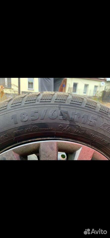 185/65 R15 комплект резины с дисками