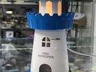 Увлажнитель воздуха Башня синяя LED USB 150 мл