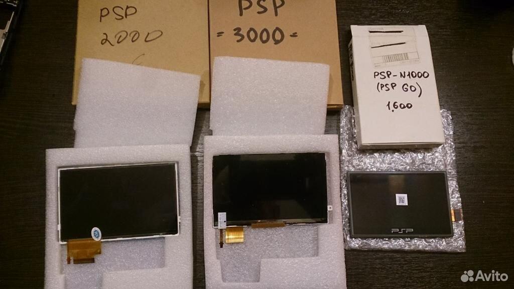 Дисплеи и наборы шлейфов для Sony PSP
