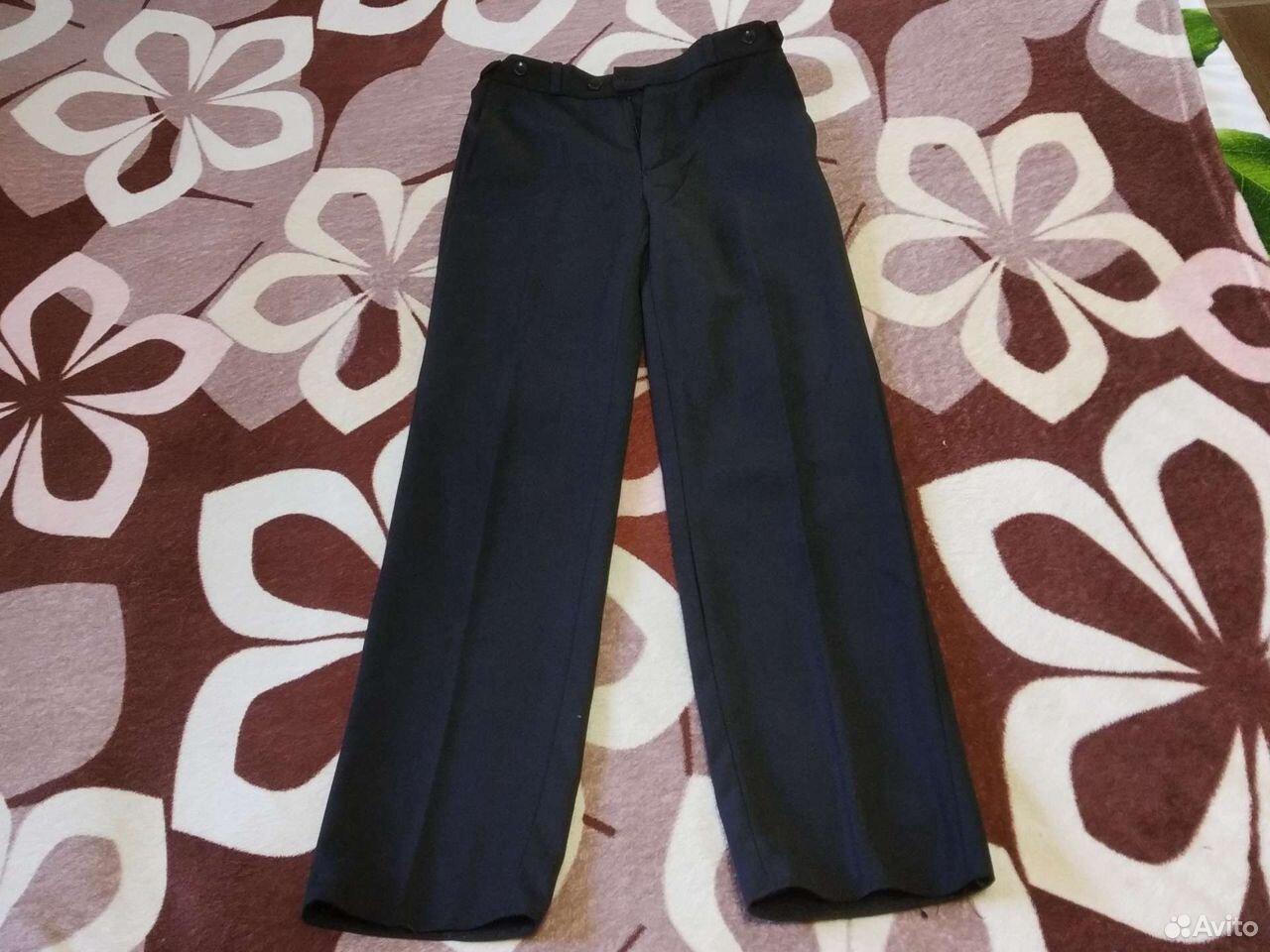 Школьные брюки черные  89371302818 купить 1