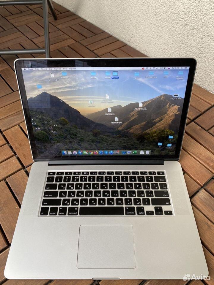 Apple MacBook Pro /Retina 15' /2015 /торг+чехол  89110060492 купить 2