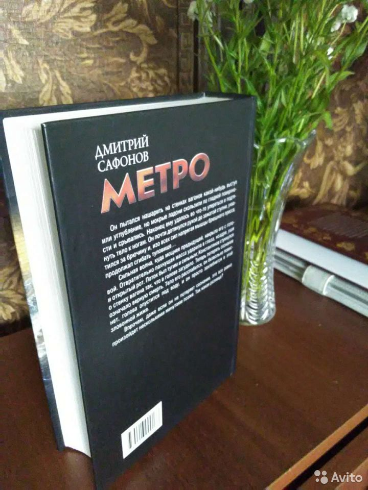 Дмитрий Сафонов Башня. Метро. Эпидемия