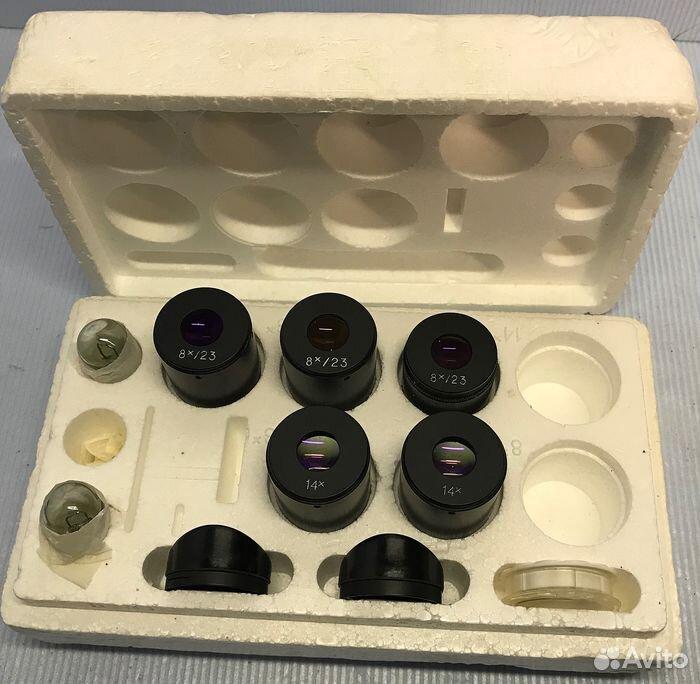 Микроскоп мбс-10 + оснастка  89610479467 купить 8