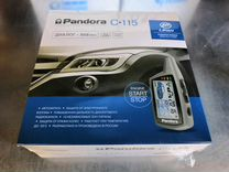 Автосигнализация Pandora C115 с а/з новая