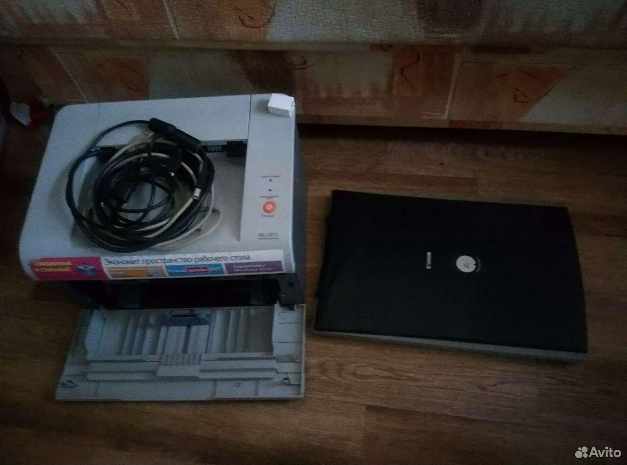 Сканер и принтер (вроде в рабочем состоянии)  89996255369 купить 1