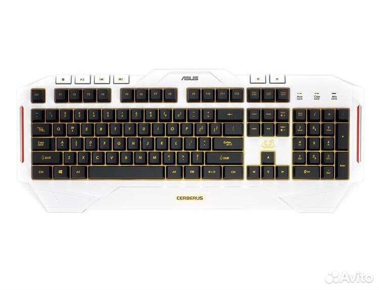 Клавиатура asus Cerberus Arctic белая  89049949026 купить 5