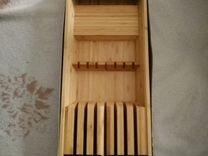 Подставка для ножей из ikea