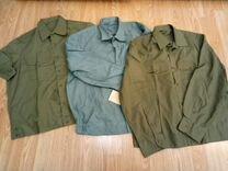 Новые военные рубашки р.164