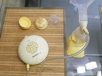 Молокоотсос электрический двухфазный medela swing